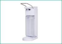03-   Universal Armhebelspender, ABS, weiß mit Tropfschale